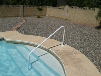 King 39 S Pool Fencing Pool Handrail Installation 877 521 5569