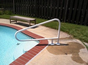 Saftron Pool Handrail