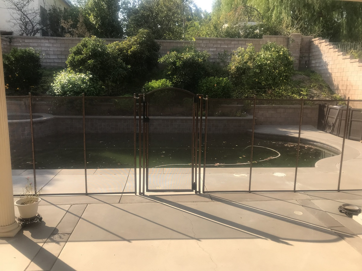 Life Saver Pool Fence installations in Chino Hills, CA