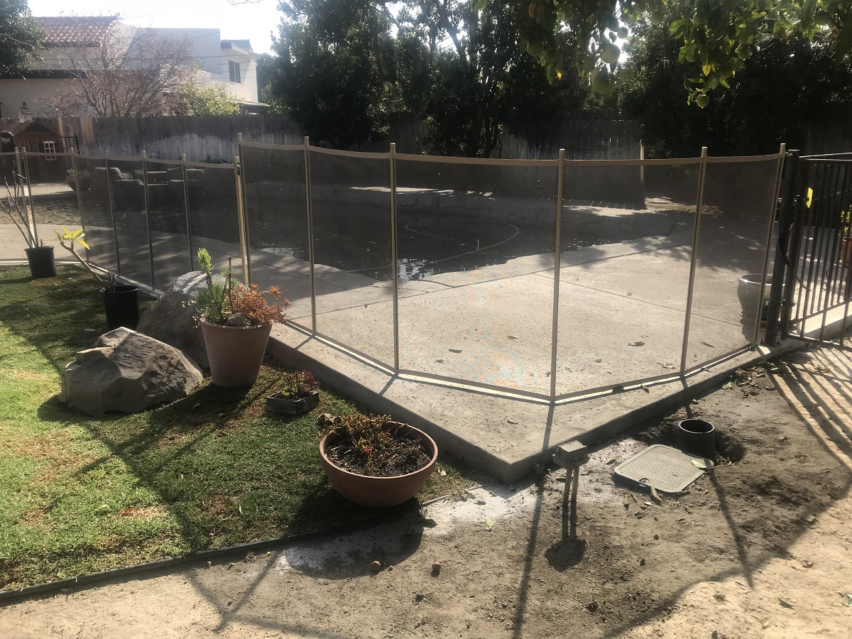 Life Saver Pool Fence installed in Camarillo, CA