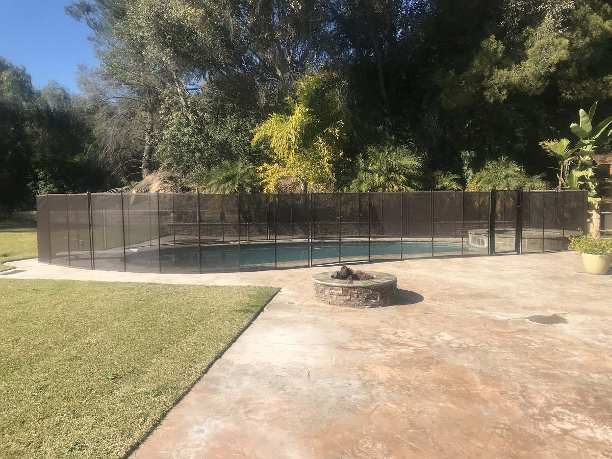 pool fence installed in Pomona, Los Angeles County, CA