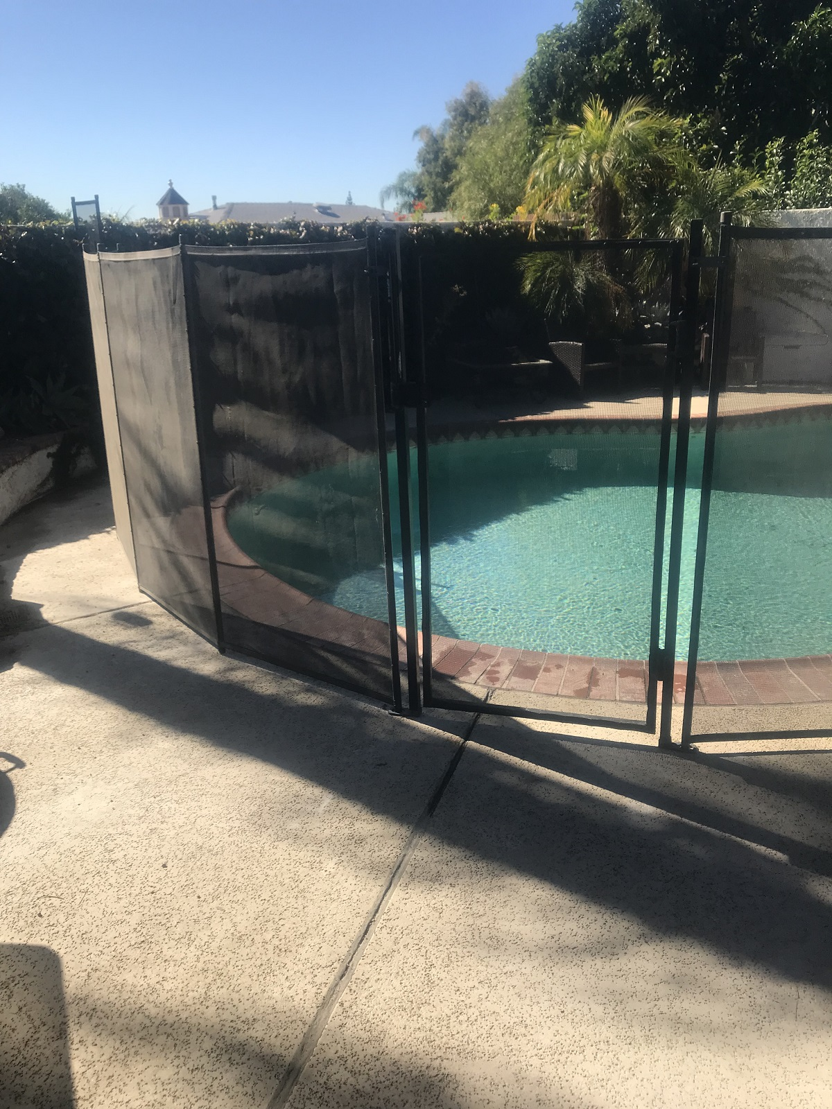 pool safety fence Rancho Cucamonga, CA