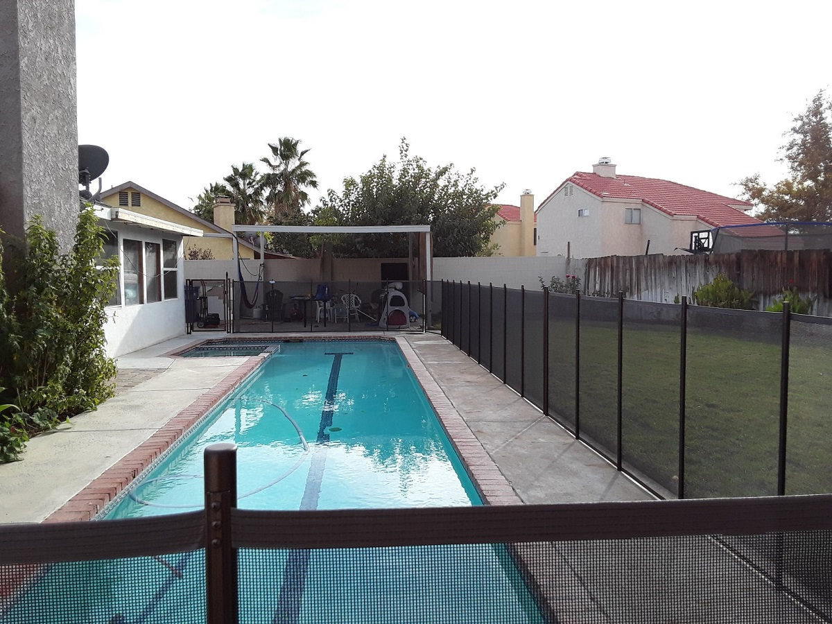 removable mesh pool fence Palmdale, CA