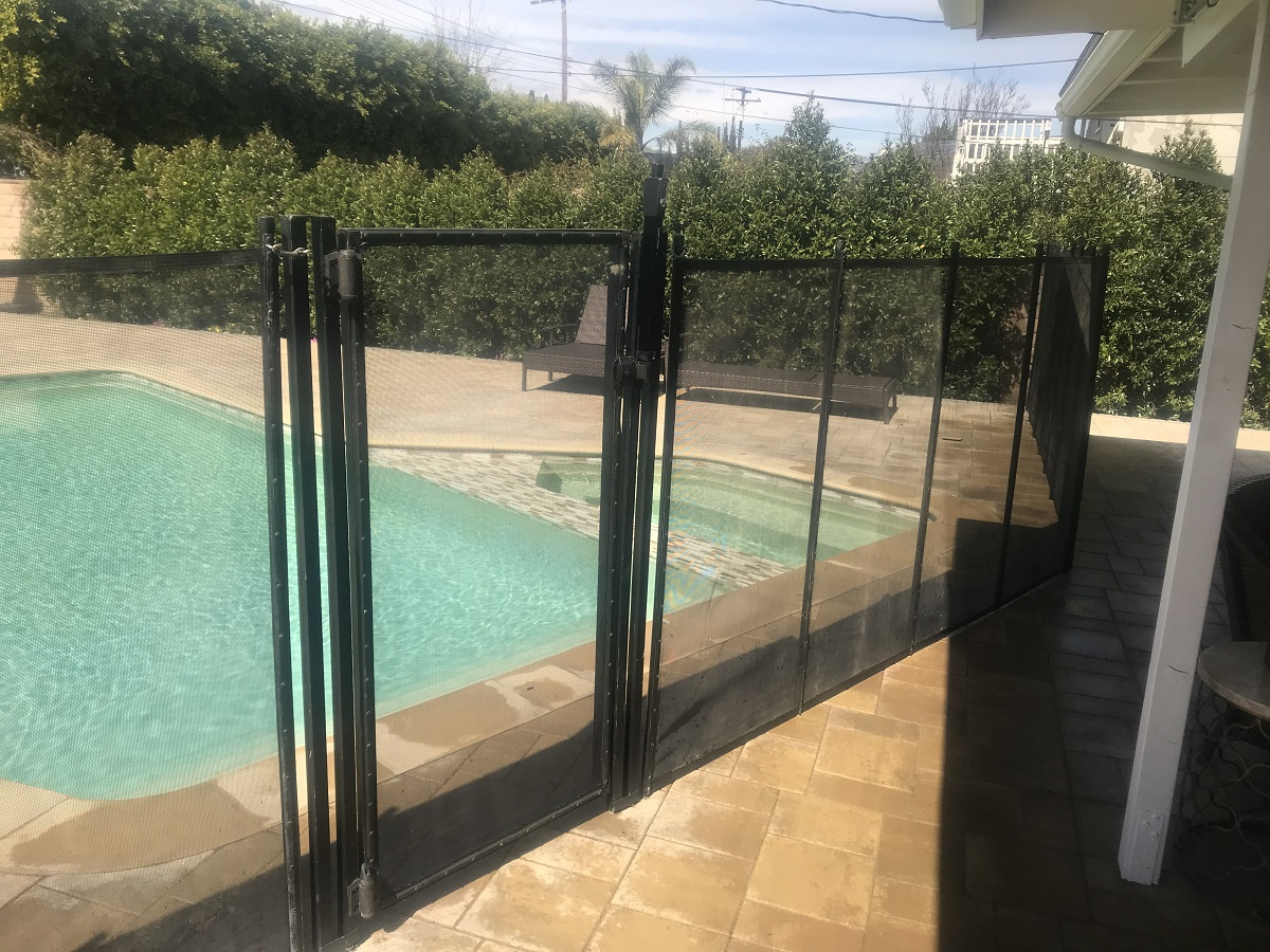 removable mesh pool safety fence El Granada, CA