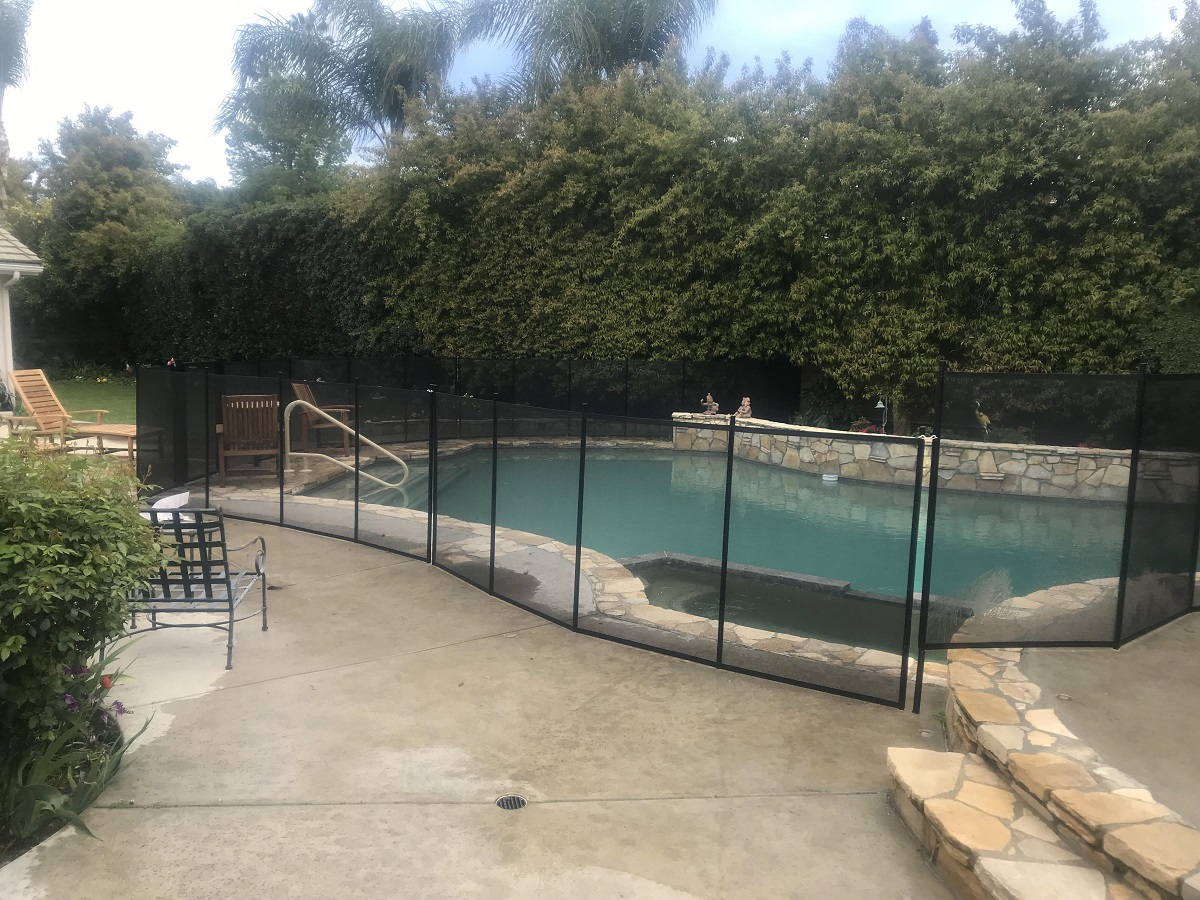 King's Pool Fencing installation in Woodland Hills, CA