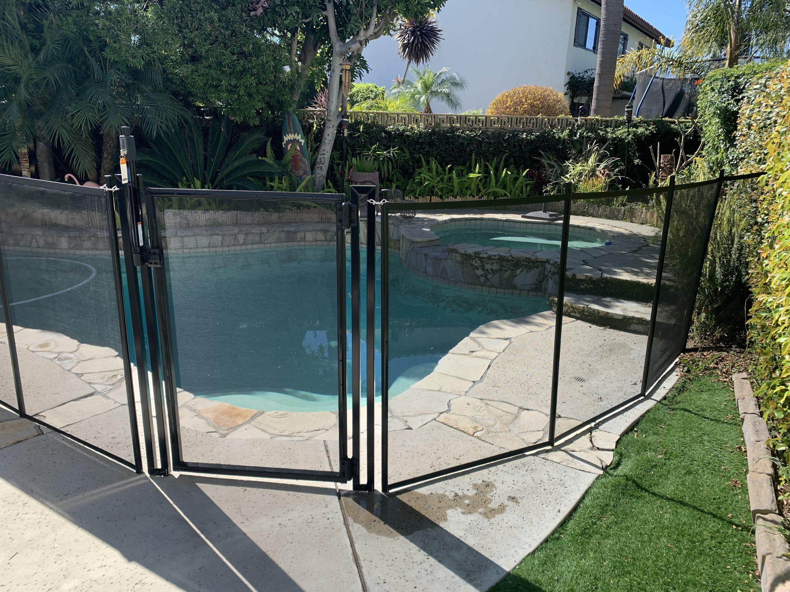 Life Saver Pool Fence installation in Long Beach, CA - Oscar B