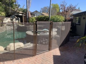 Life Saver Pool Fence installed in Monrovia, CA