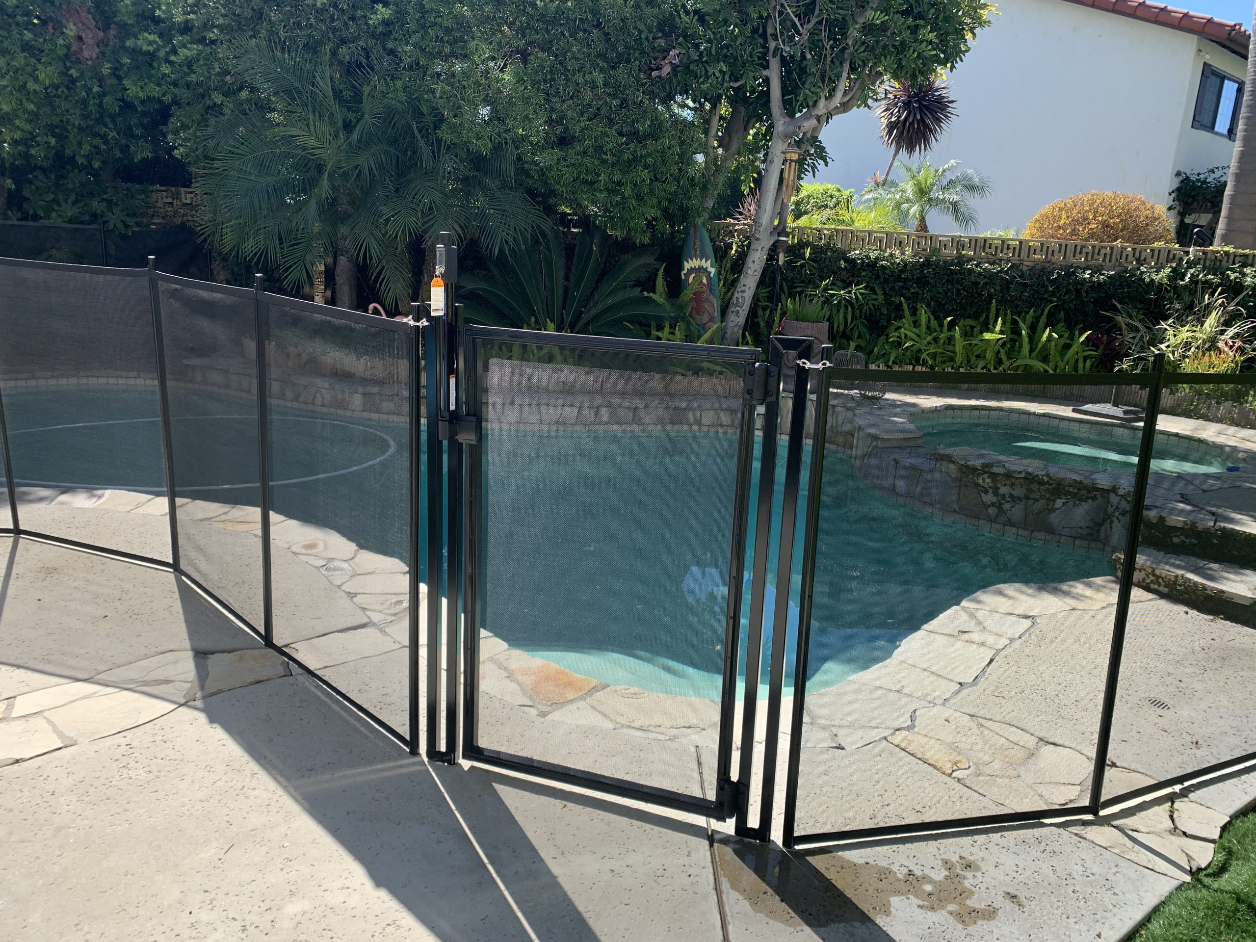 pool fencing installed by King's Pool Fencing in Long Beach, CA - Oscar B